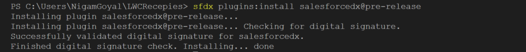saleforce plugins install